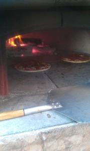 Pizza wood fired Mettawas Station restaurant Kingsville Ontario